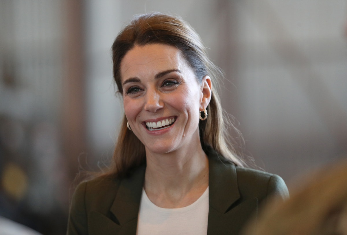 Kate Middleton's Green Blazer Outfit In Akrotiri Is Definitely A New Look For Her