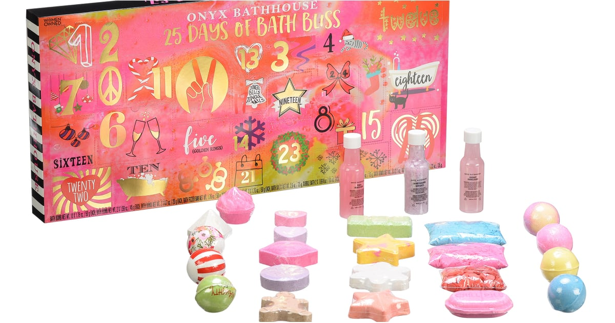 This Advent Calendar Contains 19 Bath Bombs — and It's Only $20