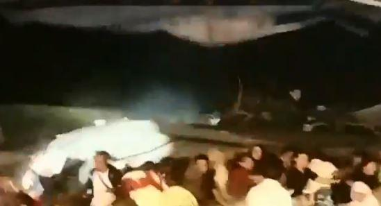 Indonesia tsunami – terrifying moment boyband are swept off stage by Krakatoa tsunami that leaves 222 dead and 843 injured