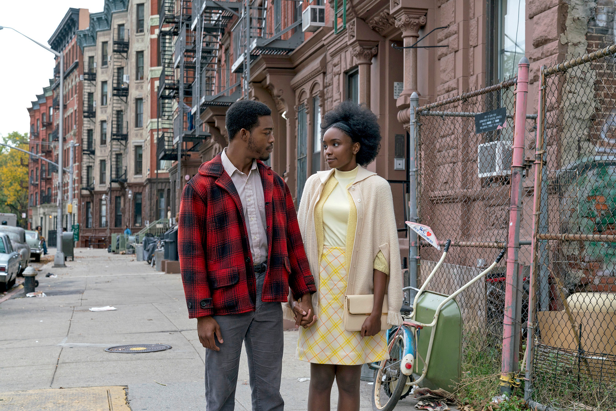 How 'Beale Street' faithfully recreated 1970s Harlem
