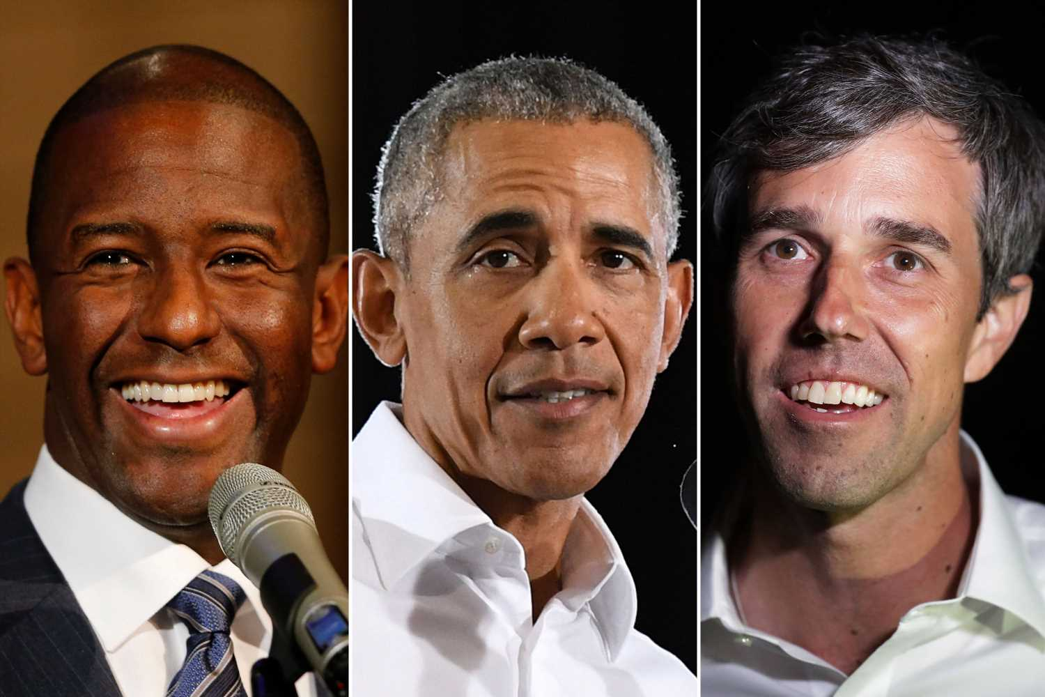 O'Rourke, Gillum meet with Obama, sparking 2020 rumors