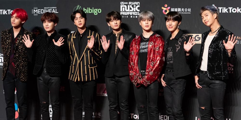 BTS Won Big at Mnet Music Awards 2018 in Hong Kong