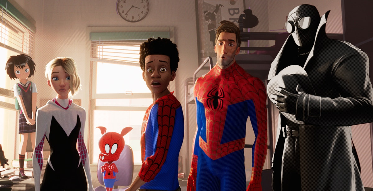 All The Spideys In 'Spiderman: Into The Spider-Verse,' From Peter Parker To An Actual Pig