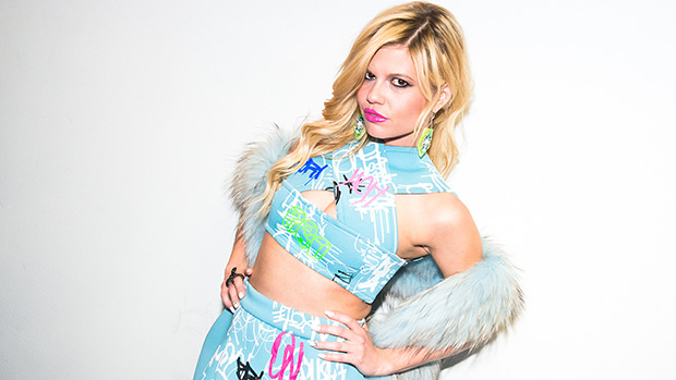 Chanel West Coast In Pretty Floral Lingerie Shows Off Hair & Toned Abs — See Pics