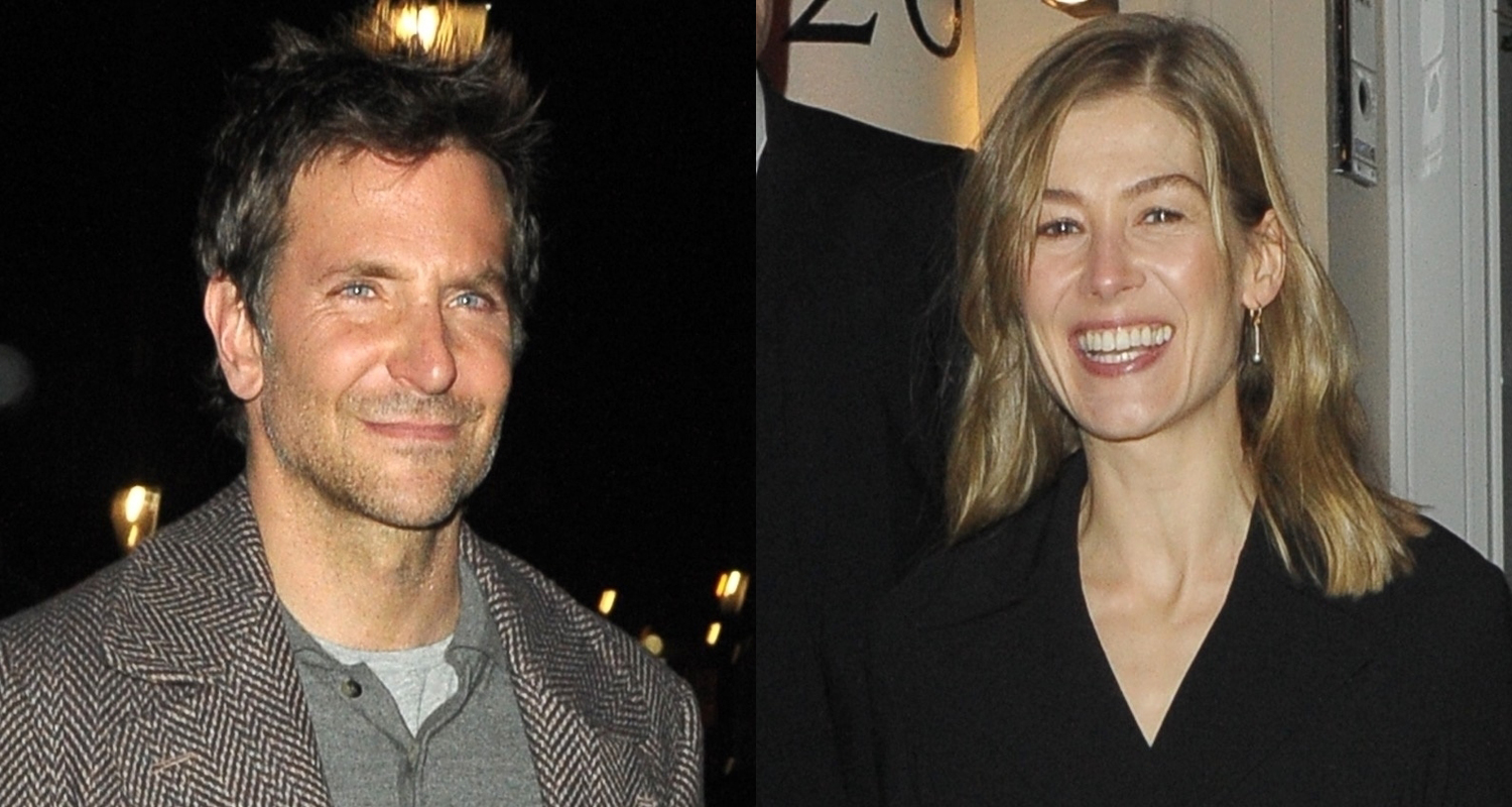 Bradley Cooper & Rosamund Pike Step Out for Evgeny Lebedev's Vodka & Caviar Party in London!