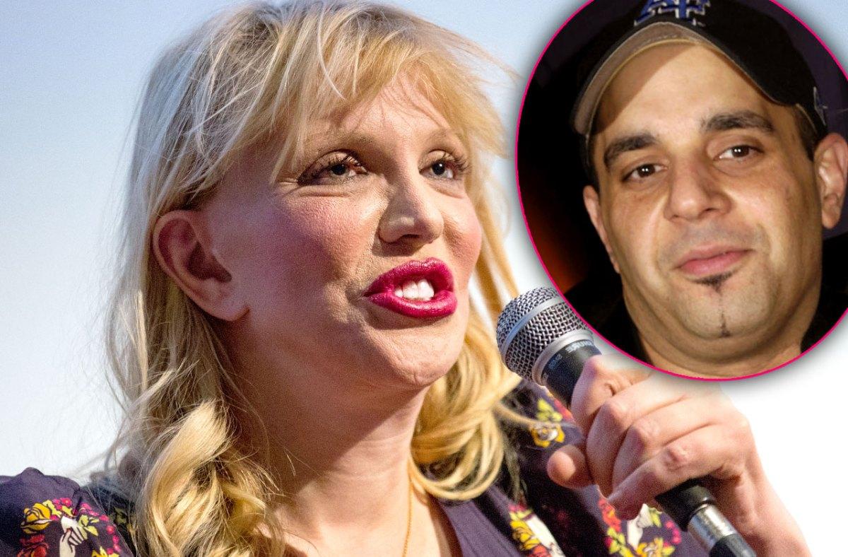 Courtney Love Files Restraining Order Against Sam Lufti Over 'Threatening' Messages