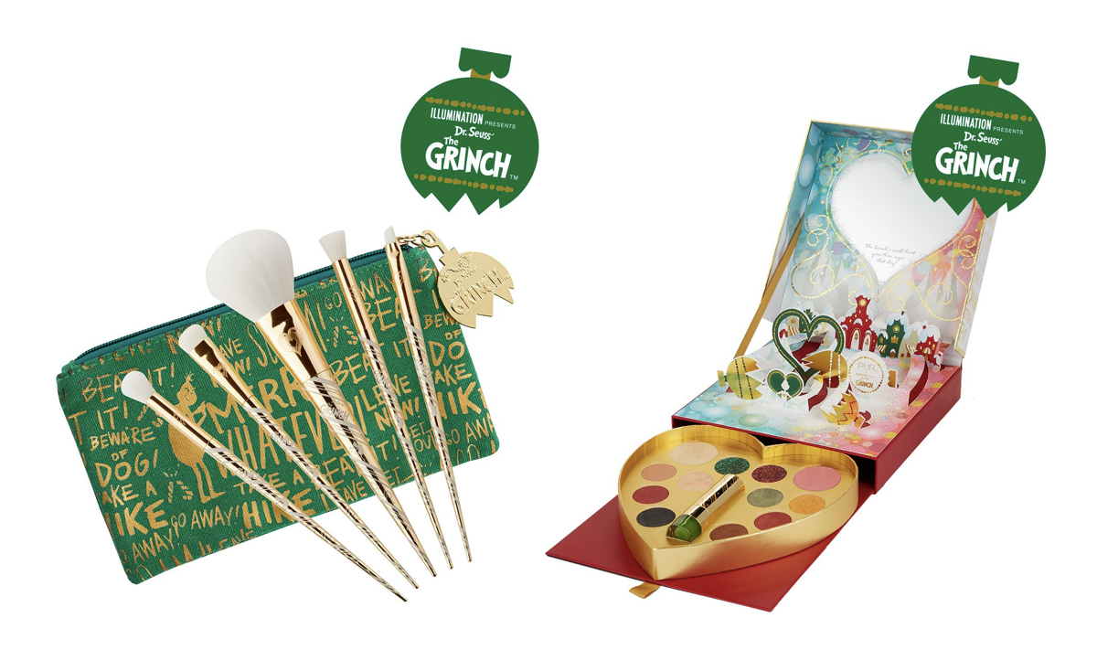 PUR's 'The Grinch' Makeup Collection Will Make Your Heart Grow Three Sizes This Year