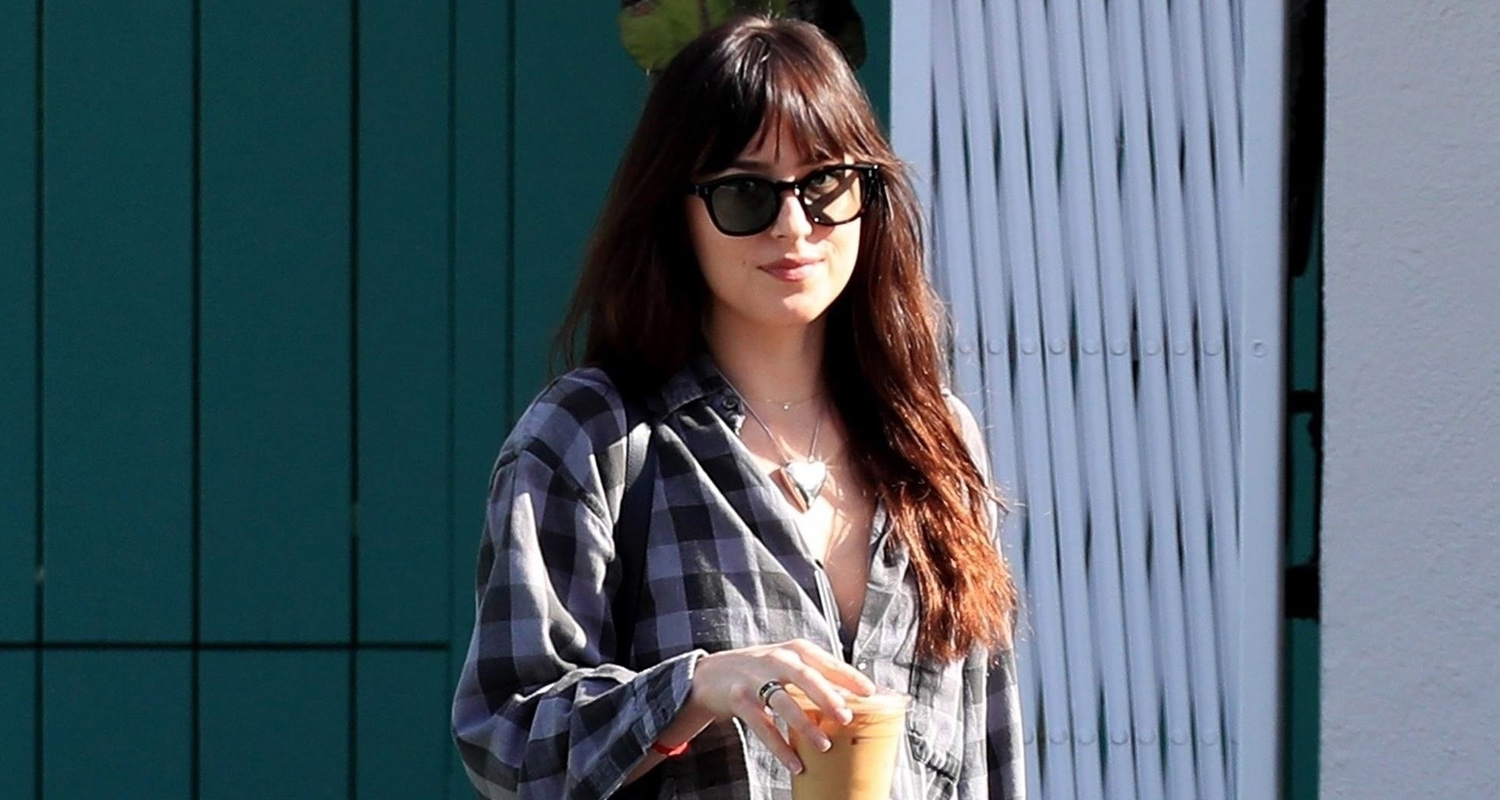 Dakota Johnson Makes a Coffee Stop in West Hollywood!
