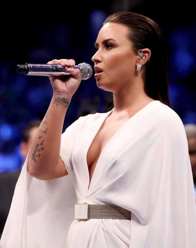 Demi Lovato to Check Into Rehab… Someplace