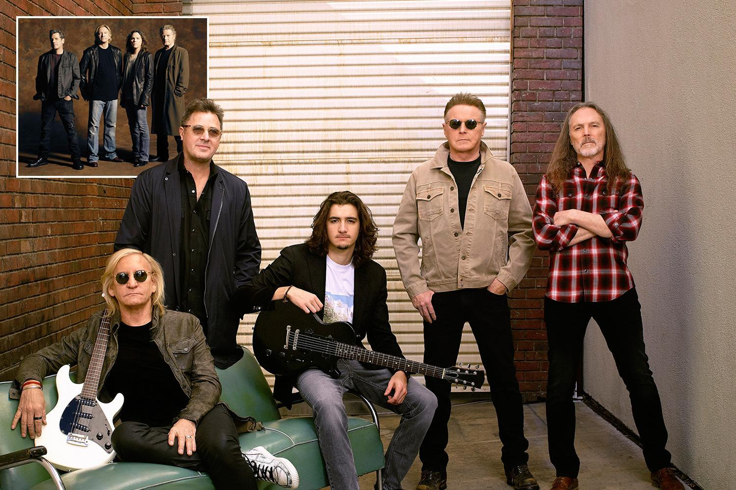 The Eagles embrace Glenn Frey's son into the band ahead of their first UK tour since the singer's tragic death in 2016
