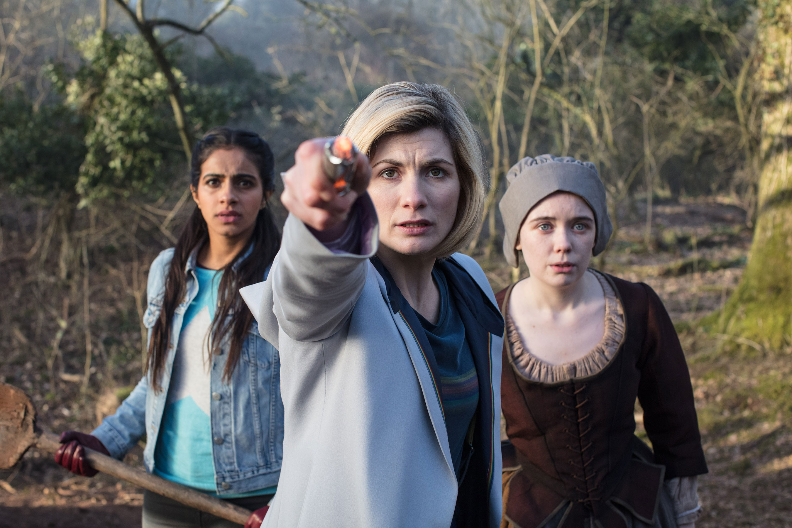 New Doctor Who teaser: Jodie Whittaker responds to nine cries for help