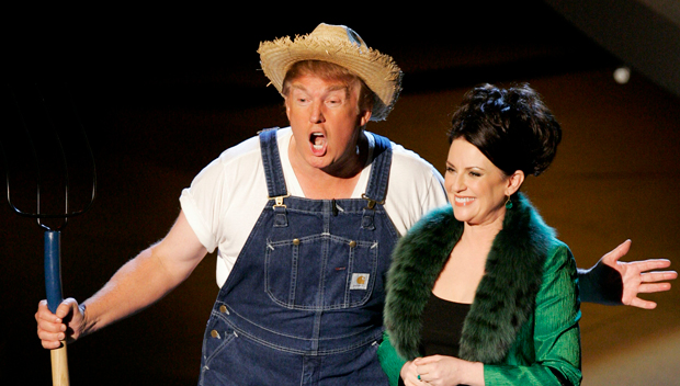 Trump Tweets Clip Of Himself Singing 'Green Acres' Theme Tune In Overalls & Is Dragged Online: 'Really?'