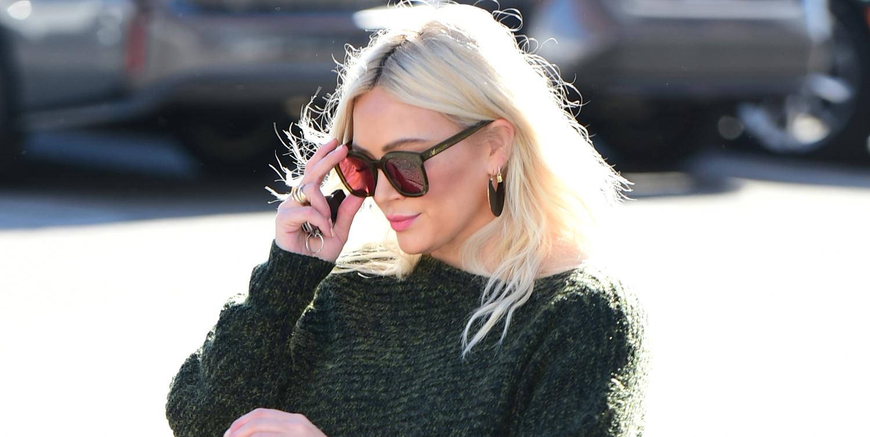 Hilary Duff Spends Her Day Running Errands in L.A.