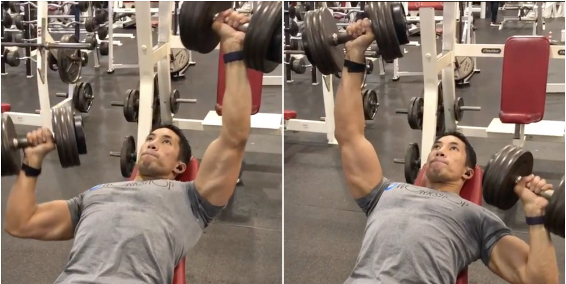 This Incline Press Challenge Rocks Your Chest and Core