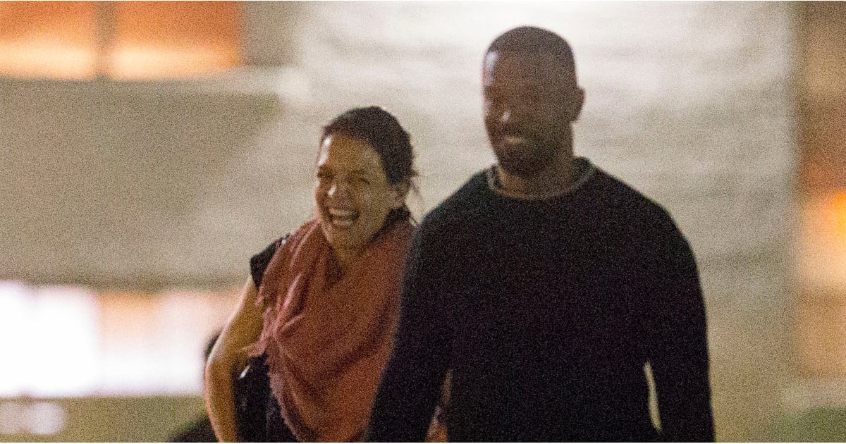 Katie Holmes's Smile During Her Date With Jamie Foxx Is So Contagious, We Can't Stop Grinning