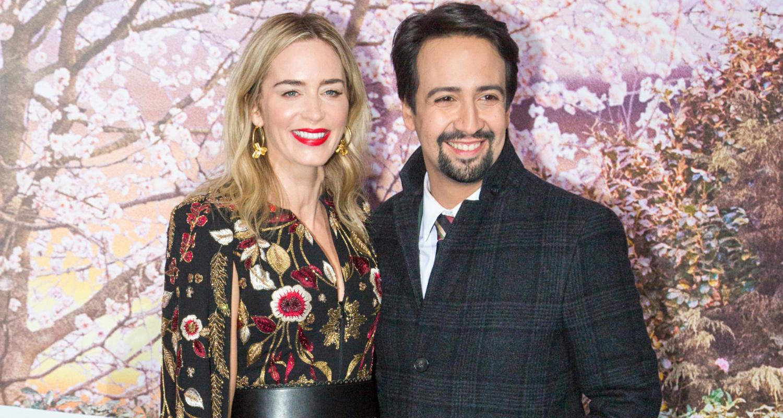 Emily Blunt & Lin-Manuel Miranda Premiere 'Mary Poppins Returns' in Paris