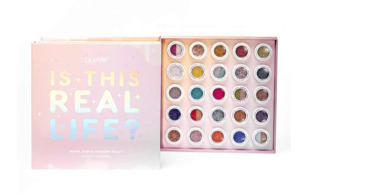 ColourPop Just Released a Makeup Vault So Big, You'll Never Need to Buy Eye Shadow Again