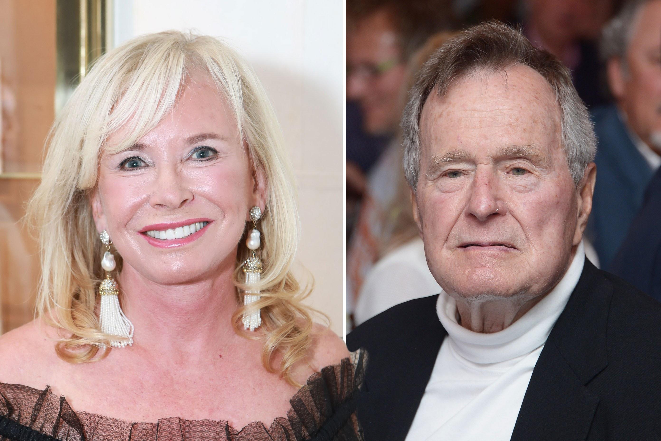 Sharon Bush wasn't invited to George H.W. Bush's funeral