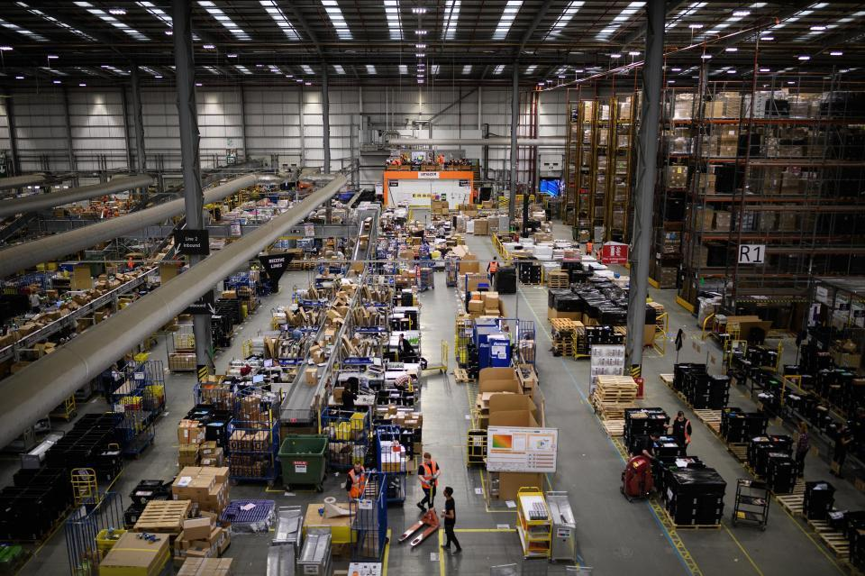 Amazon Christmas warehouse staff 'treated like robots' and sacked for not meeting 'unrealistic targets', former worker claims
