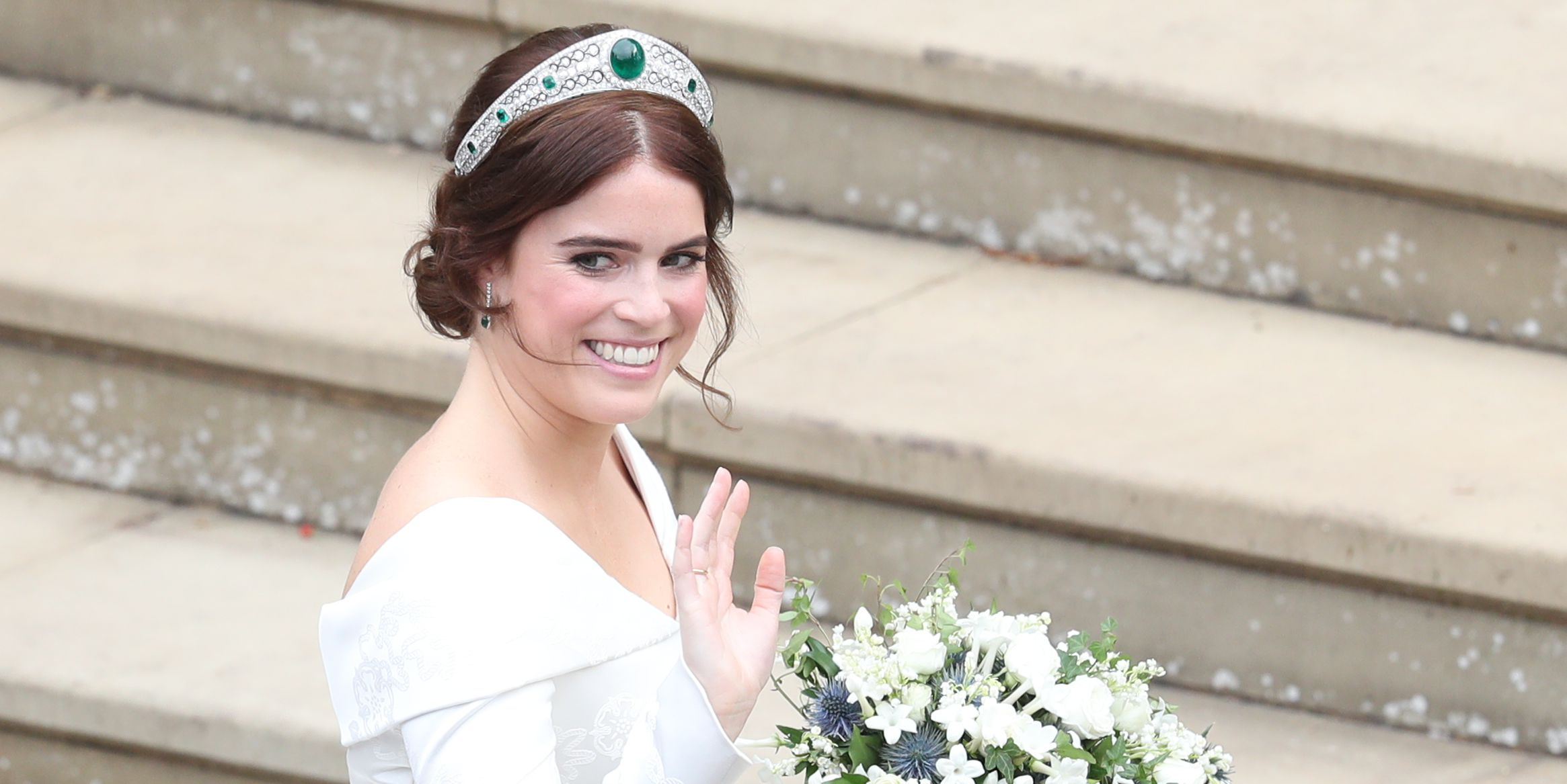 You Have to See Princess Eugenie's Gorgeous Post-Wedding Hair Makeover