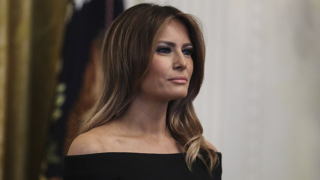"Melania Trump Claims Comedians, Writers, Performers ""Are Using My Name"" as ""Opportunists"""