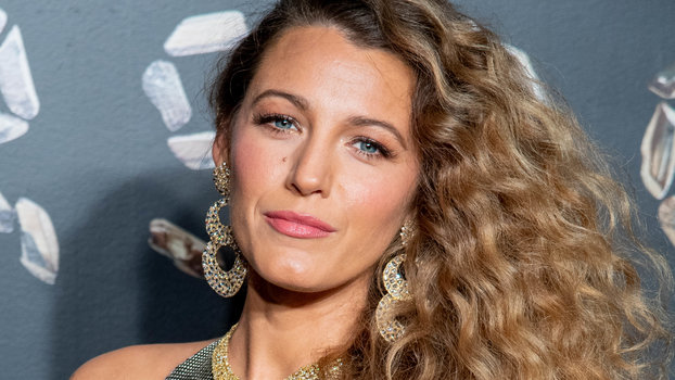 Blake Lively Channels Her Inner Disco Ball In Chainmail Minidress
