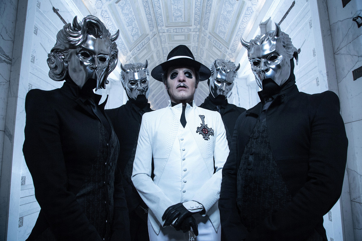 For heavy metal band Ghost, the devil is in the details