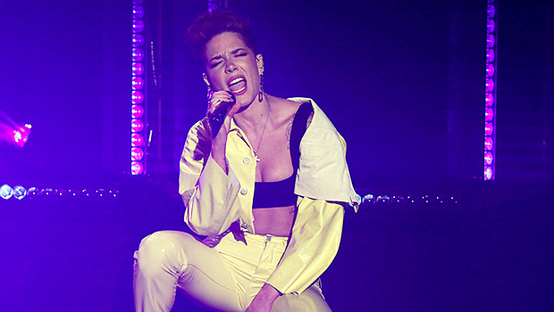 Halsey Shows Off Toned Abs In Sexy Leather For 'Without Me' Performance On 'Ellen' — Watch