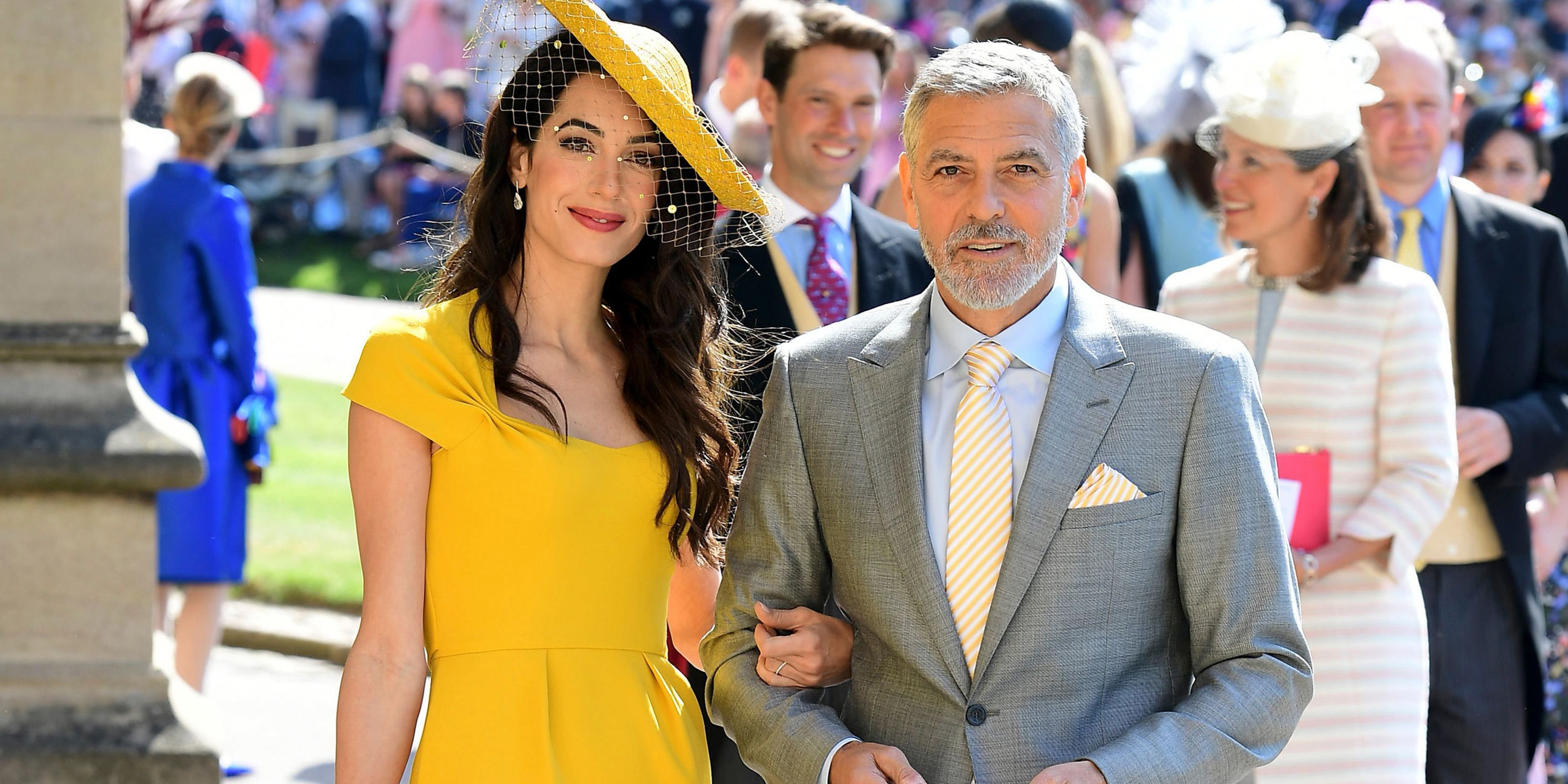 Amal Clooney's Yellow Royal Wedding Dress Is Now Available to Shop