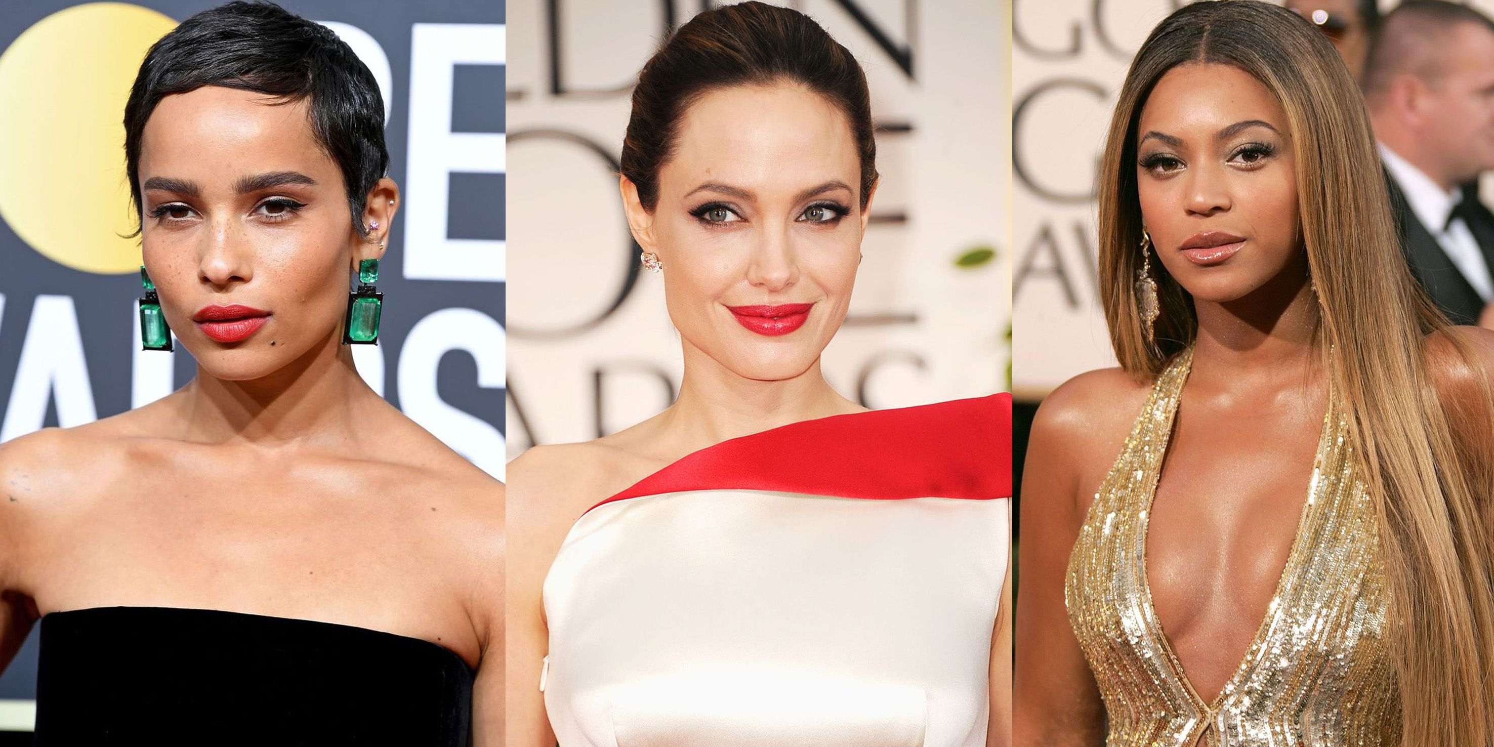 The Best Golden Globes Beauty Looks of All Time