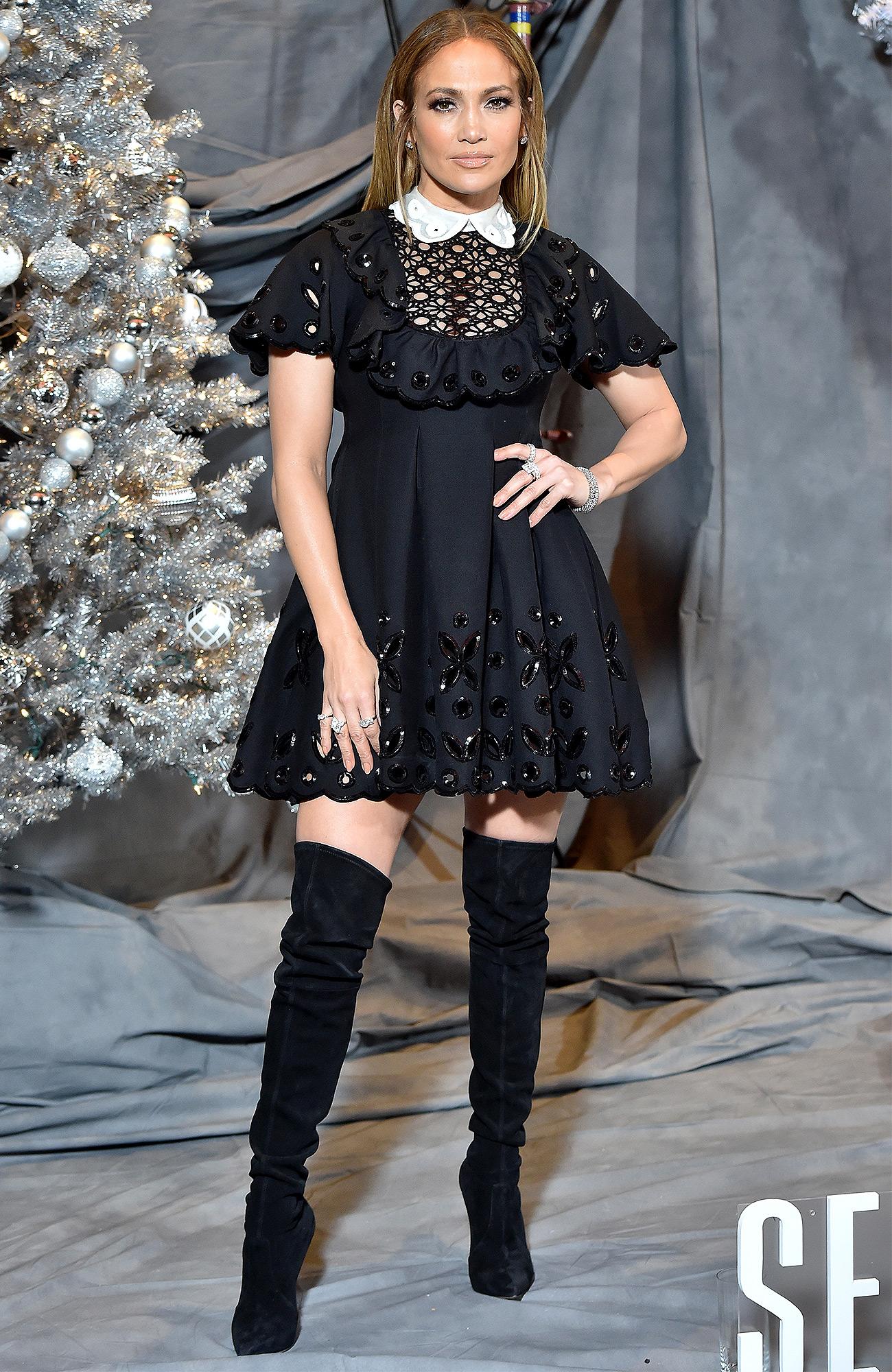 Jennifer Lopez's Flirty Babydoll Dress — Plus More Can't-Miss Celeb Looks