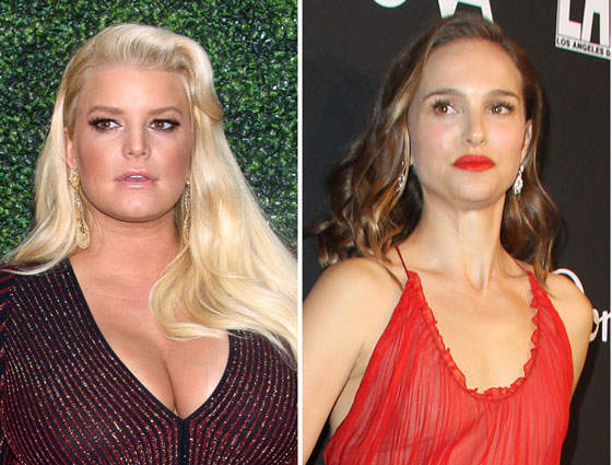 Today In Random: Jessica Simpson Let Natalie Portman Have It For Bikini-Shaming Her (UPDATE)