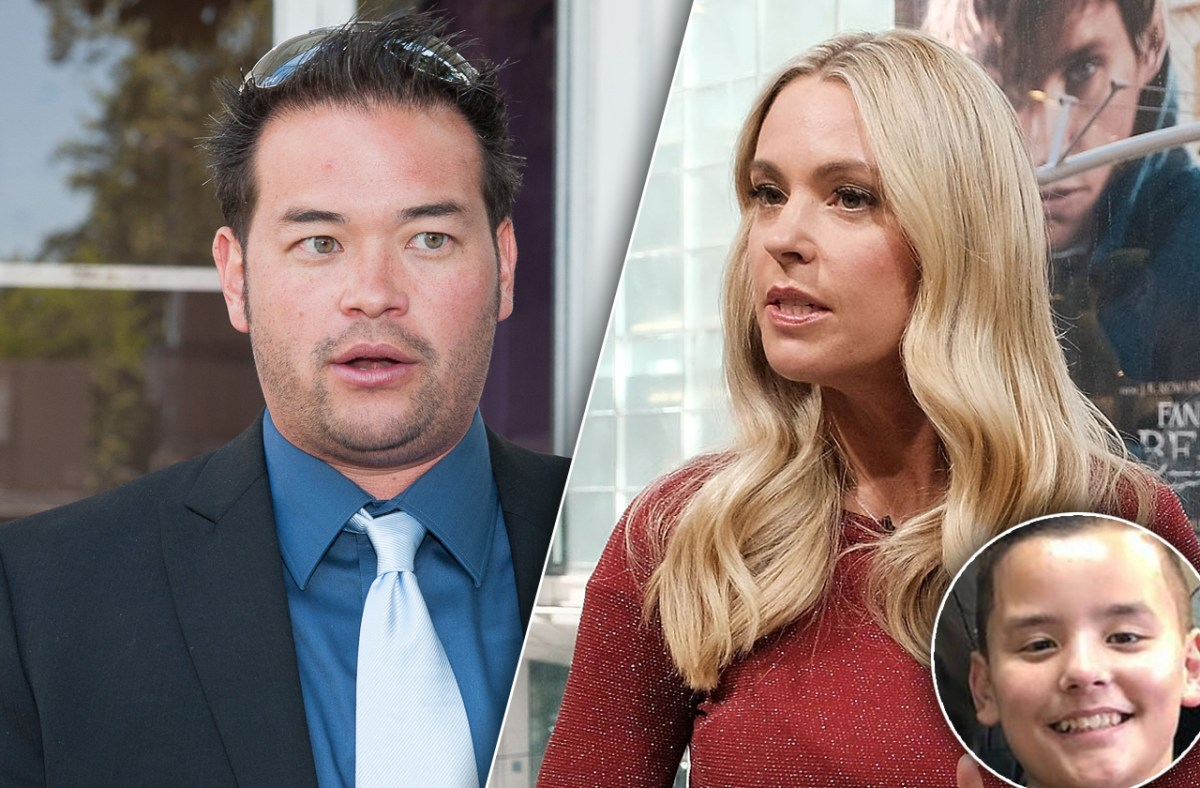 Jon Gosselin Shuts Down Ex-Wife Kate's Claims Son Collin Has Special Needs