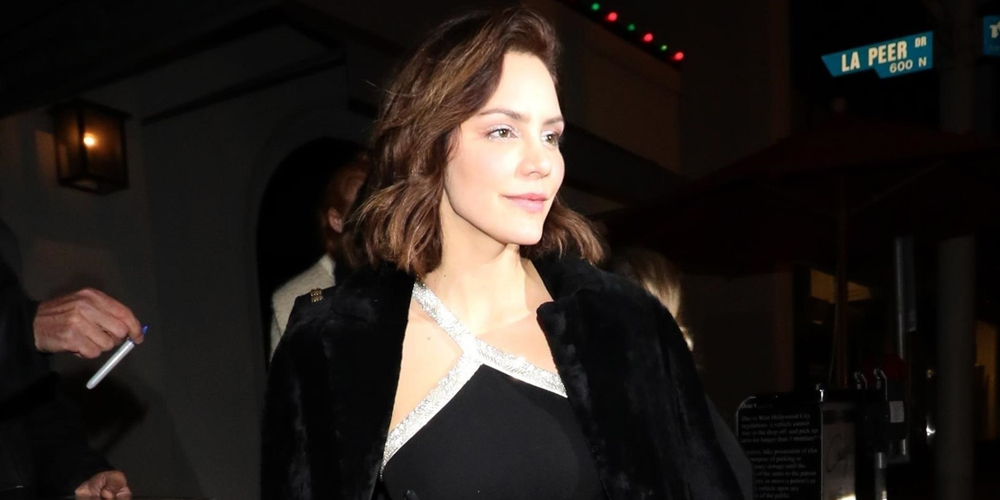 Katharine McPhee Steps Out Looking Chic After Dinner at Craig's!