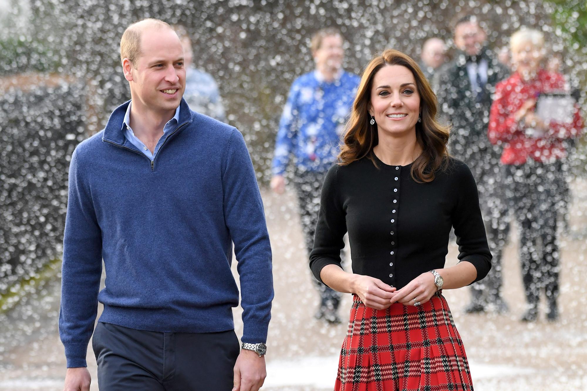 Kate Middleton nails Christmas style in thousand-dollar plaid