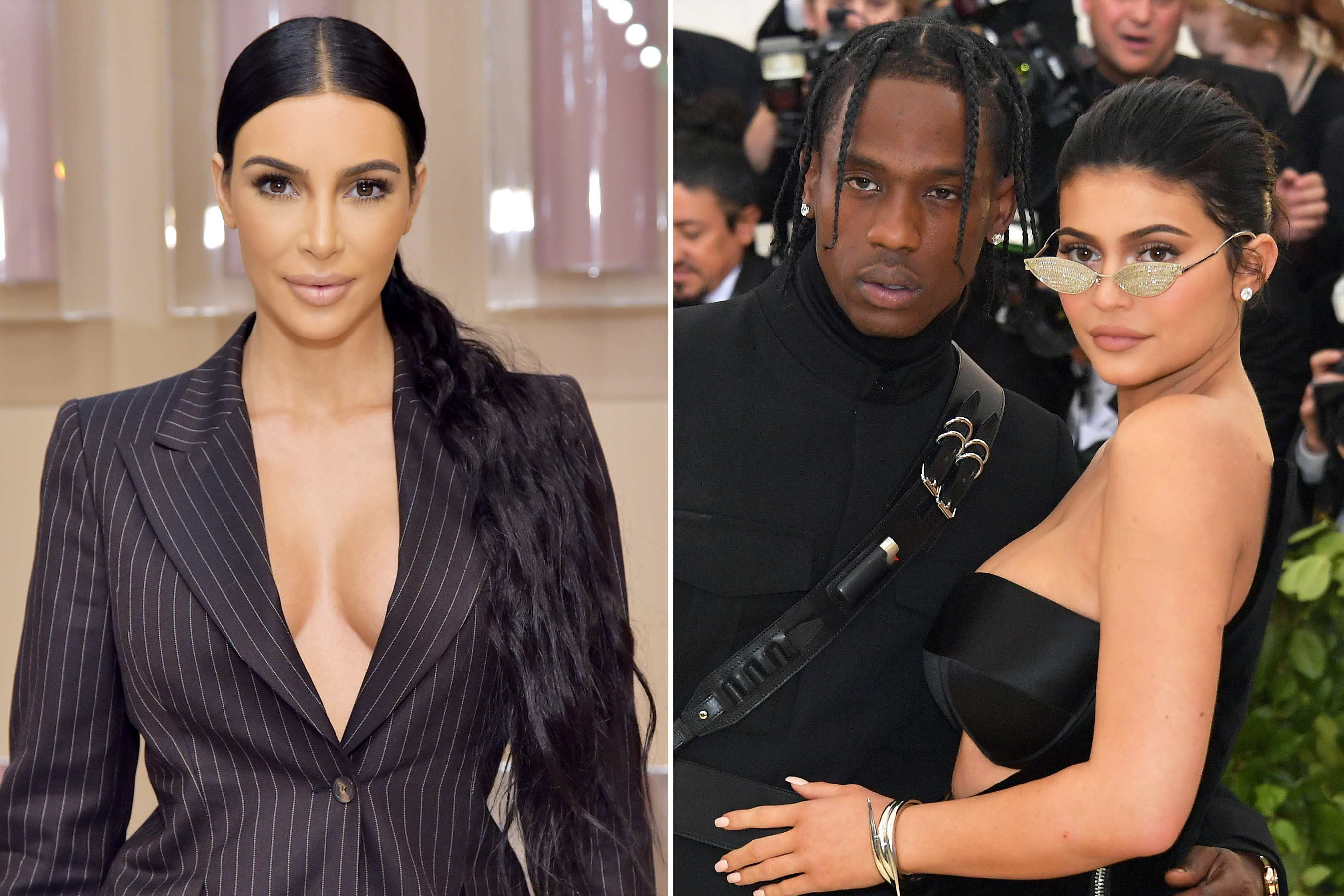 Kim Kardashian Doesn't Know if Kylie Jenner and Travis Scott Are Engaged: 'I'm Going to Ask'