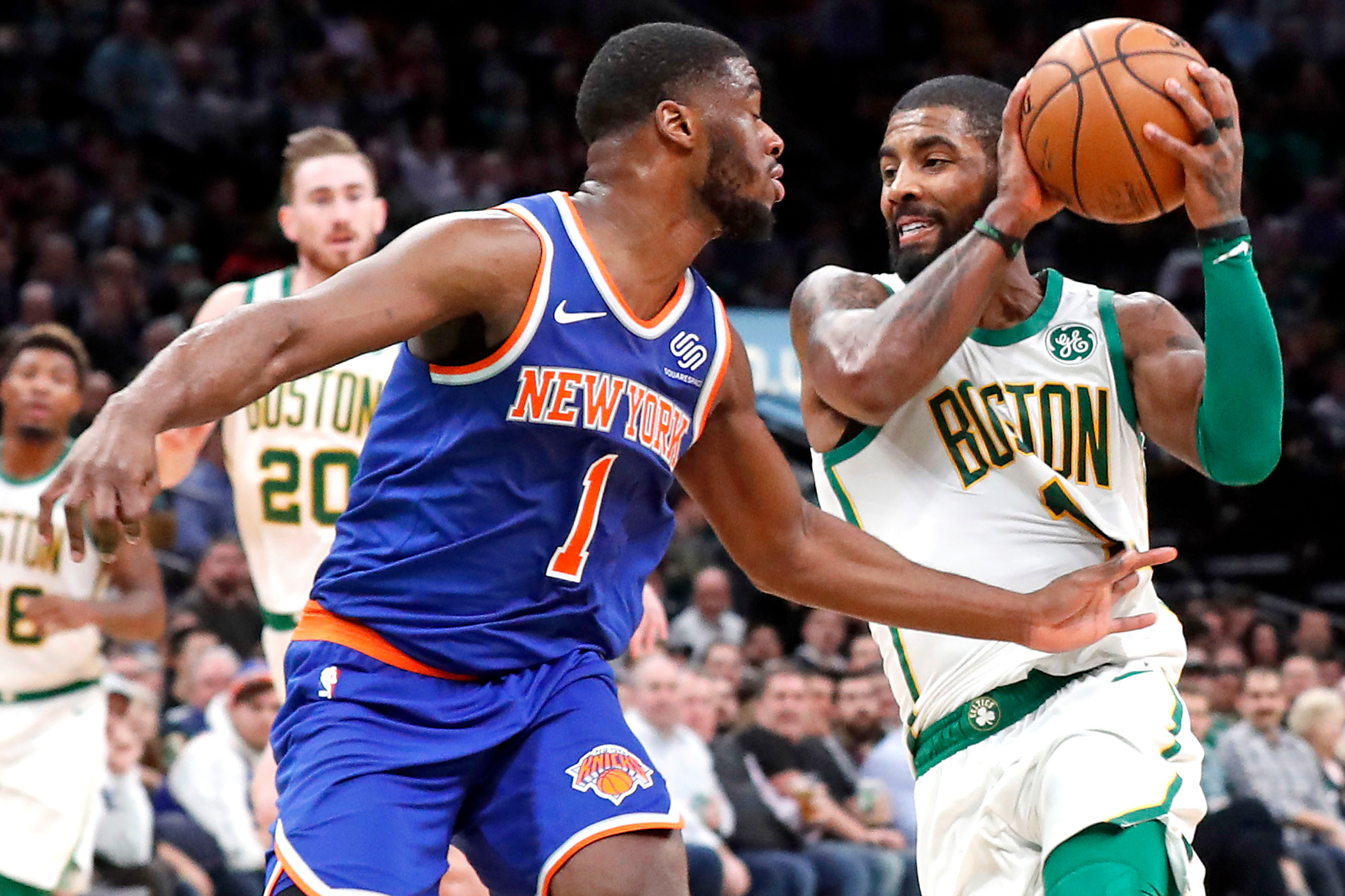 No Boston magic this time: Knicks drilled by Celtics