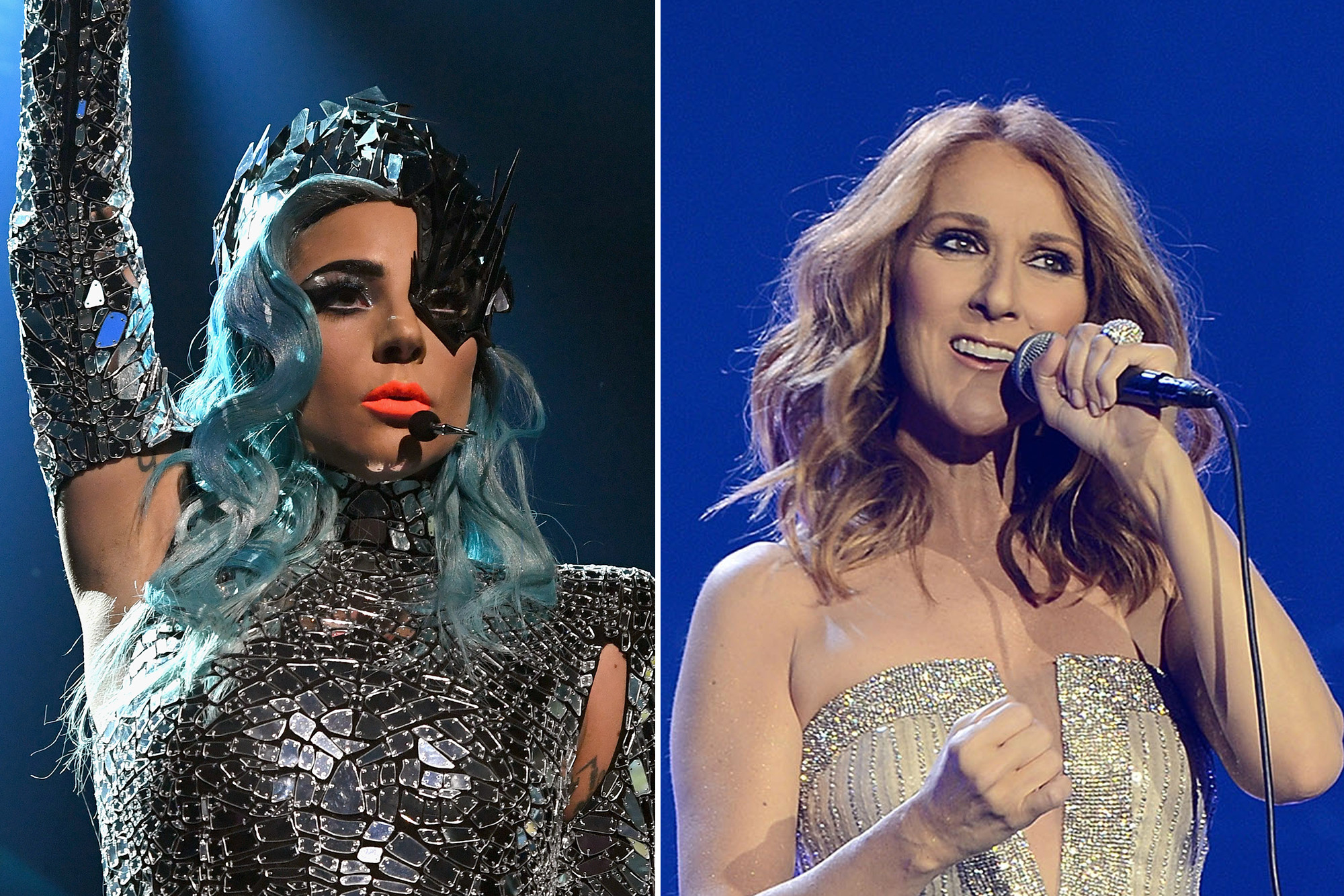 Céline Dion had the best time at Lady Gaga's Vegas show