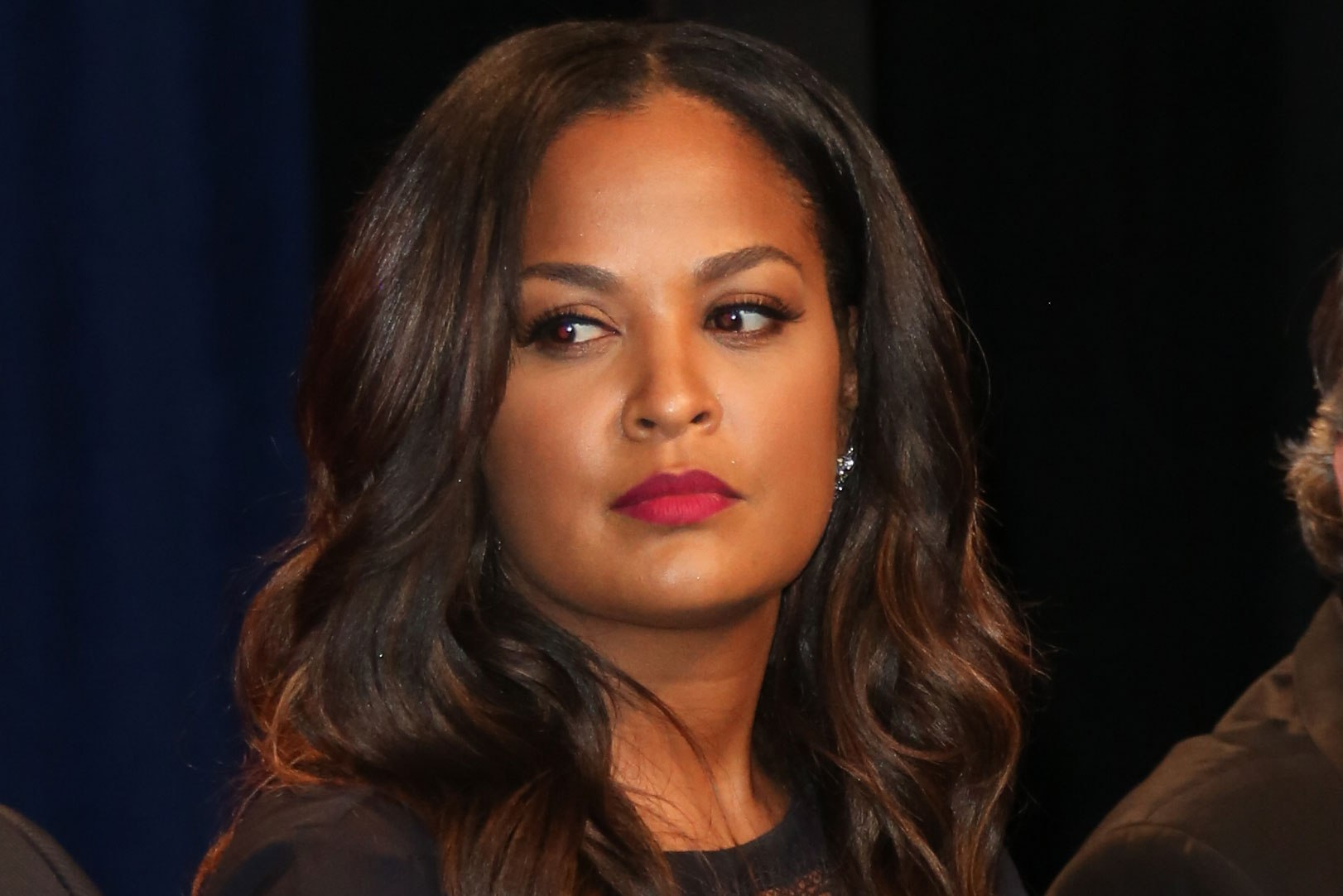 Laila Ali accidentally backs into pedestrian with her car