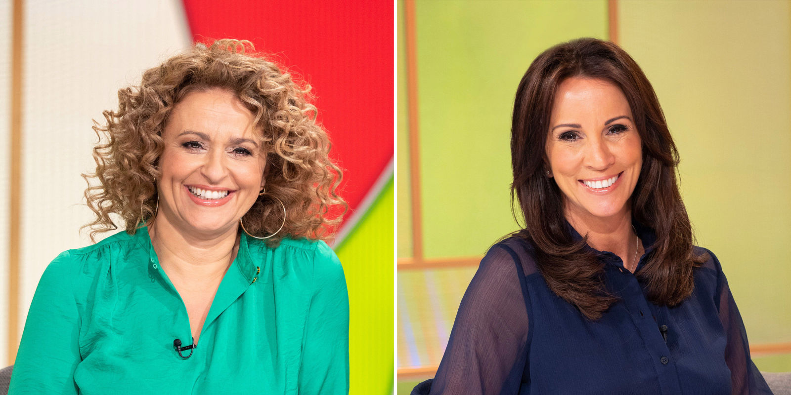 Loose Women stars Andrea McLean and Nadia Sawalha reveal their dream panel guests