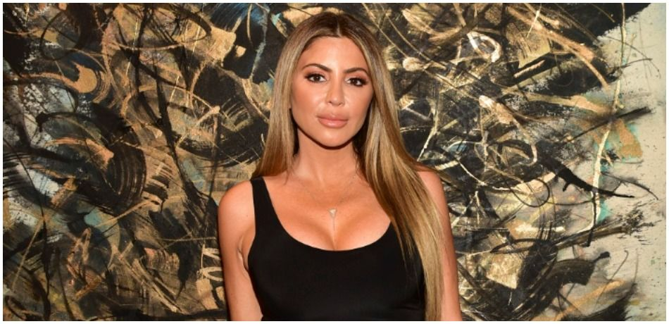 Larsa Pippen Busts Out Of Skimpy Black Dress While Partying With Paris Hilton