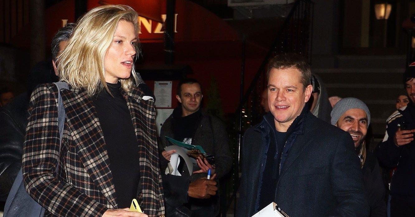 Matt Damon Has Dinner With Ben Affleck's Ex Lindsay Shookus Ahead of 'SNL'