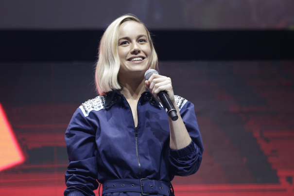 'Captain Marvel': Brie Larson Flies Into Brazil's Comic Con Experience With New Footage