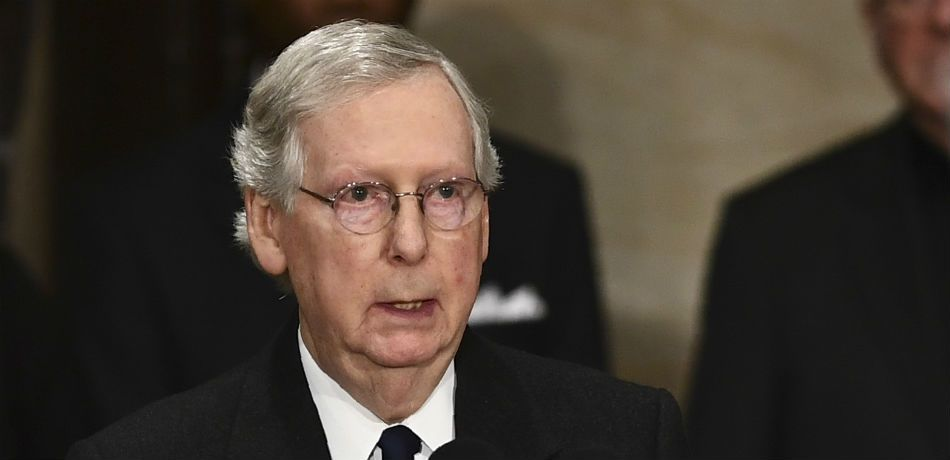Mitch McConnell Admits He Is 'Particularly Distressed' Over James Mattis' Resignation