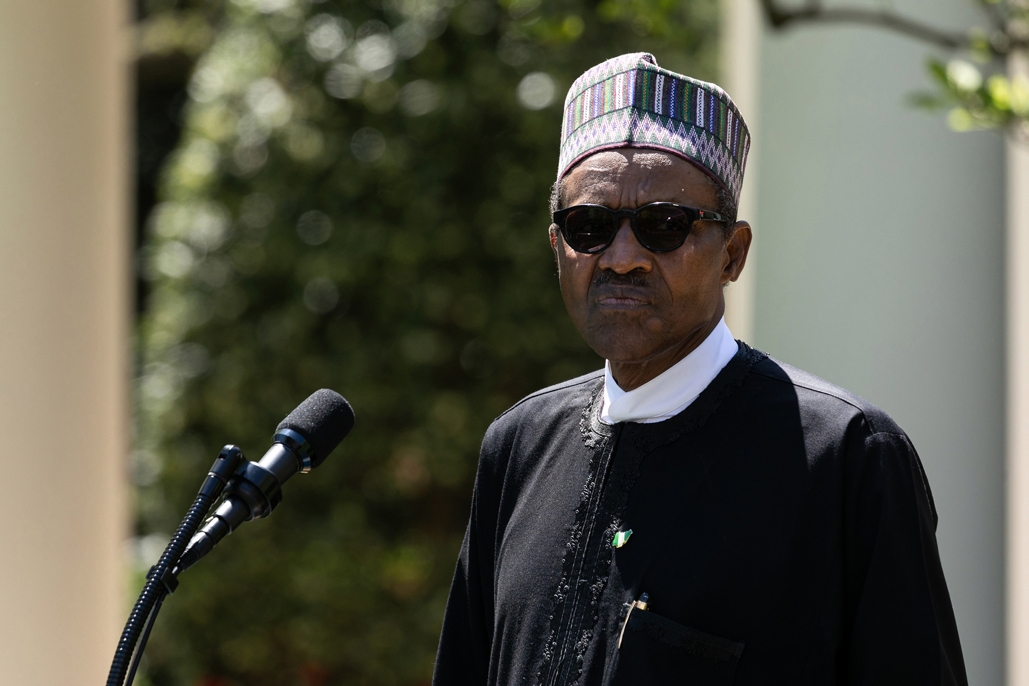Nigerian president insists he is not a clone