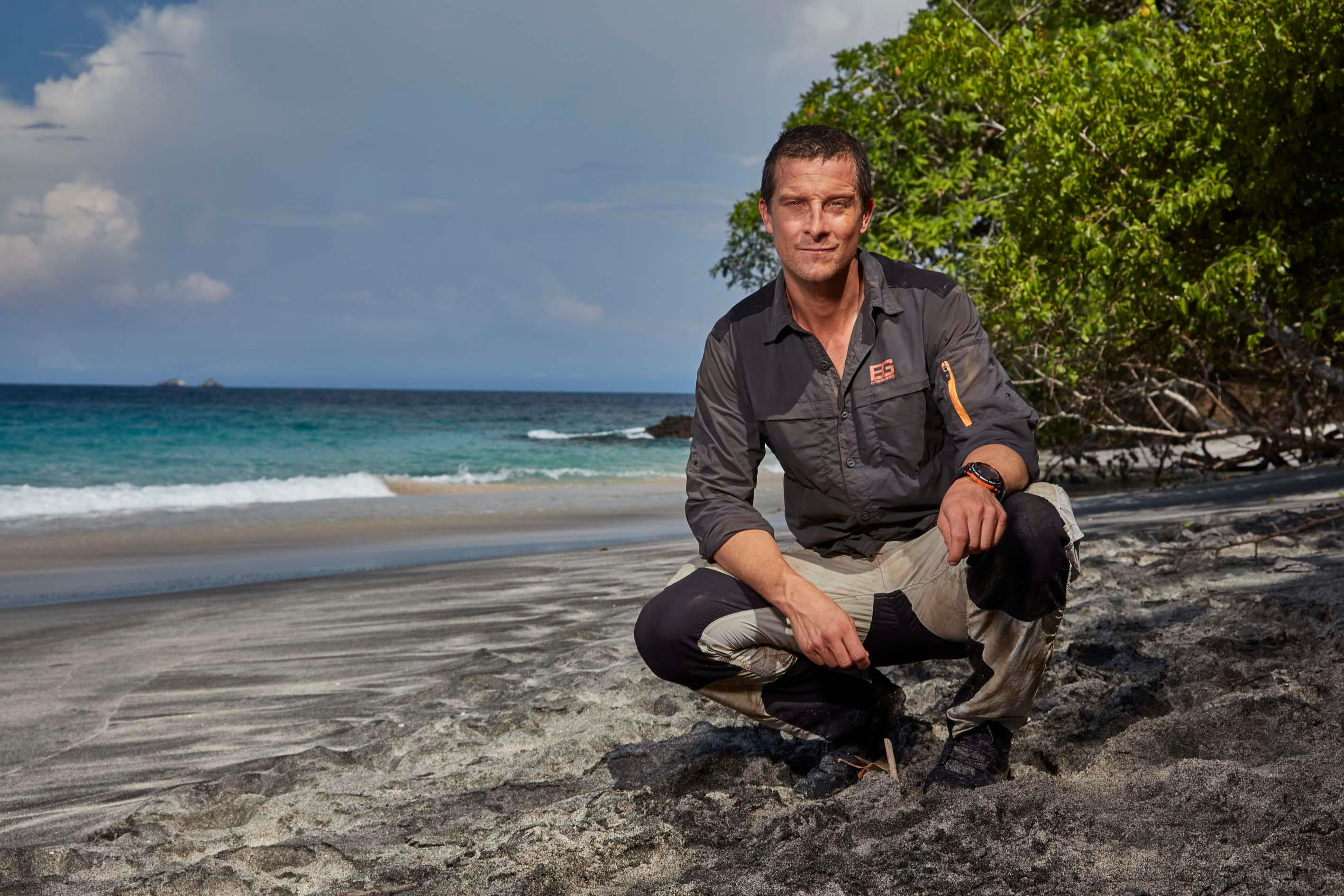 How old is Bear Grylls, who is his wife Shara, how many kids do they have and when did he become Chief Scout?