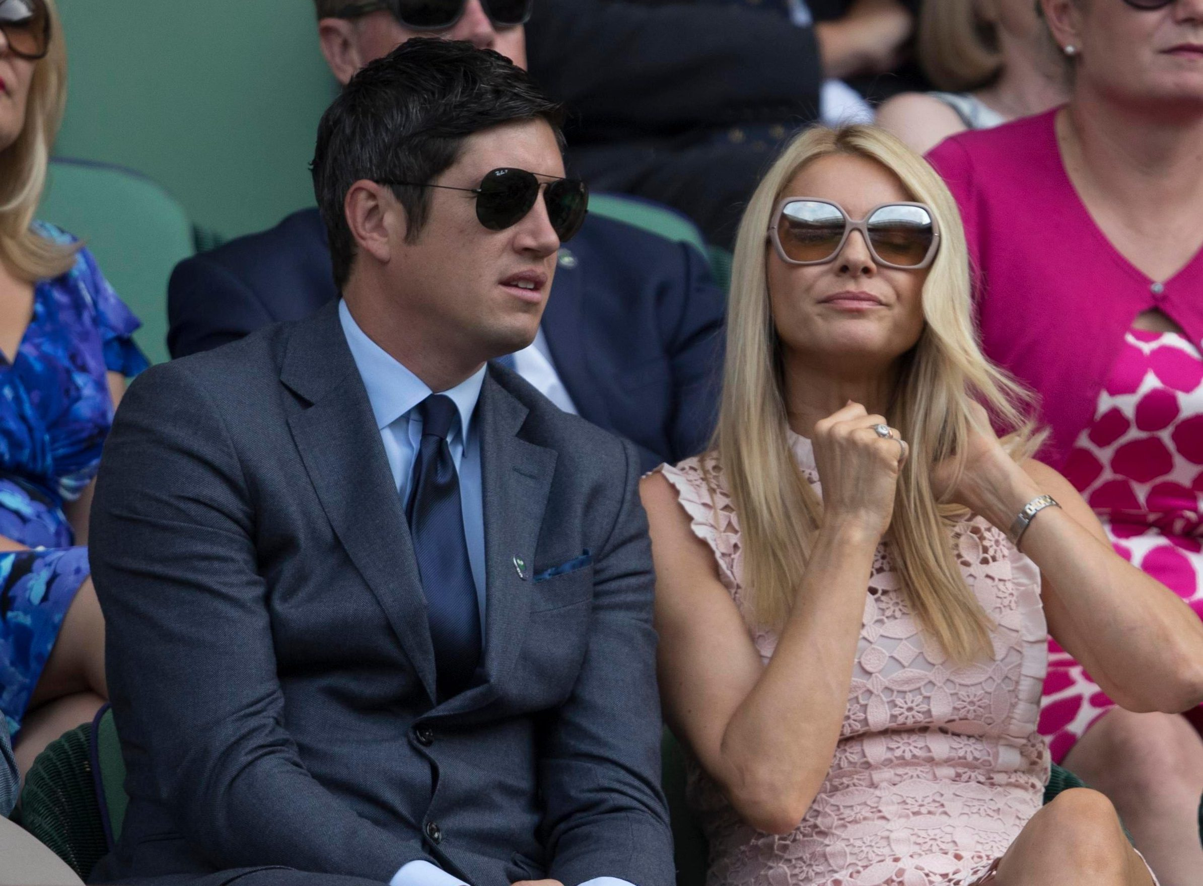When did Tess Daly marry Vernon Kay, how old is she and do they have any kids?