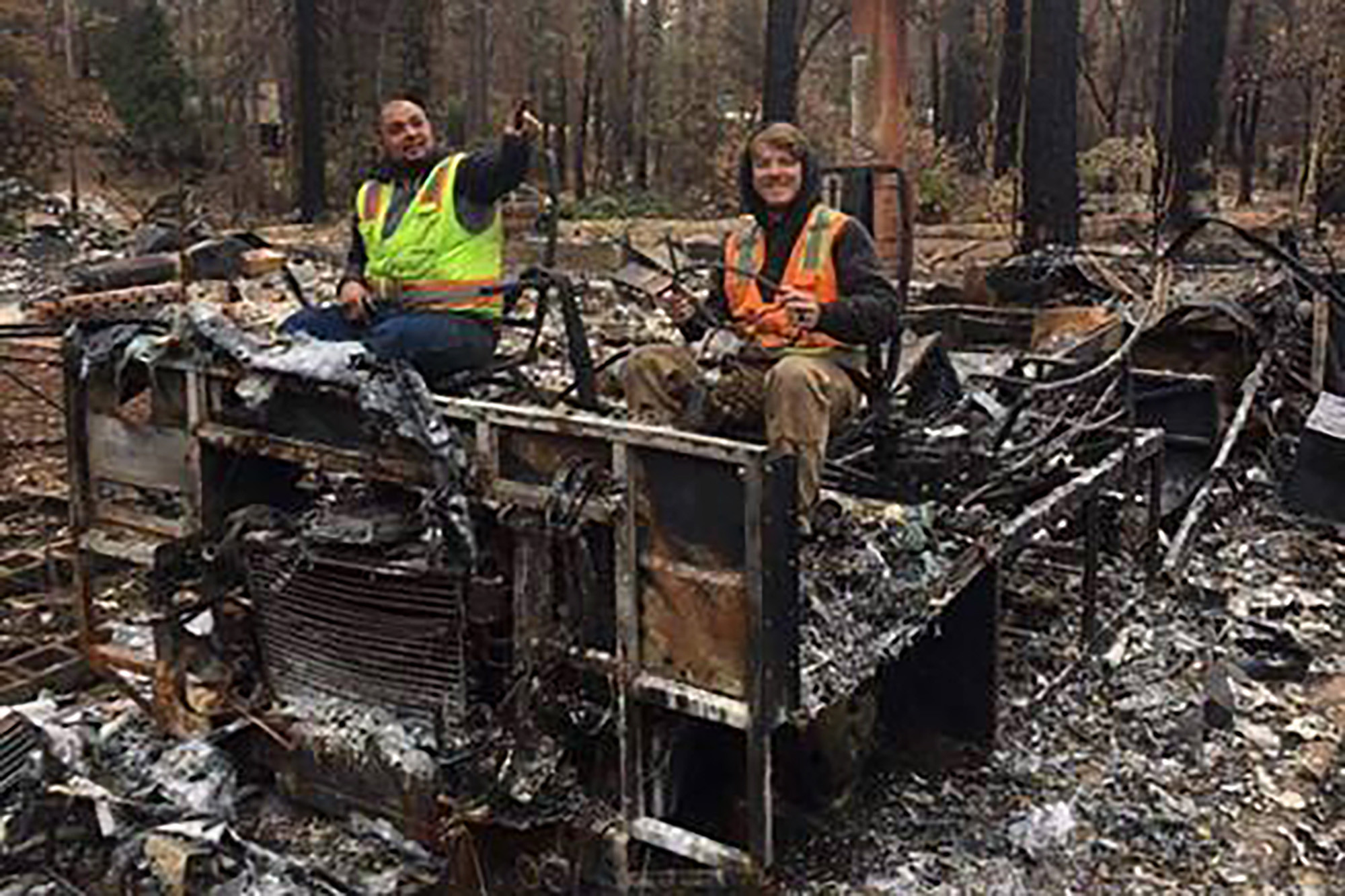 Camp Fire cleaning crew fired over 'abhorrent' social media posts