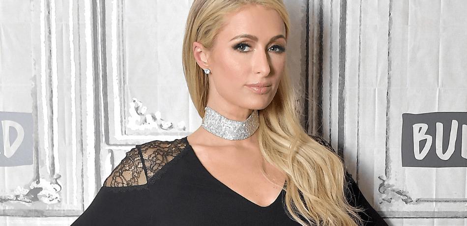 Paris Hilton No Source Celebrity Beautiful Babe Posing Hot