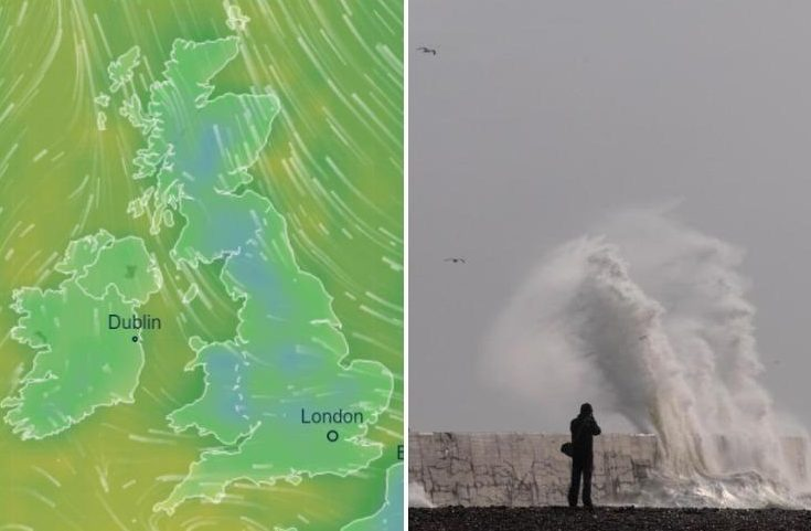 UK weather forecast: FIVE-DAY cold blast from Iceland will batter Britain this week bringing snow and frost warns forecasters